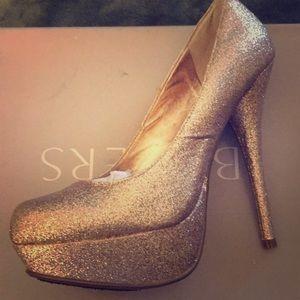 Barely Worn Glitter Heels
